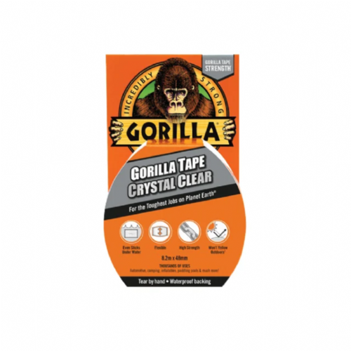 Gorilla 3044701 Tape Crystal Clear 48mm x 8.2m
